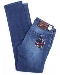 Jacob Cohen Jean modèle 622 bleu