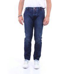 Jacob Cohen Jeans pour hommes 613 - Bleu