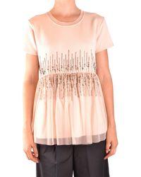 Twin Set Sweat-shirts avec capuche - Rose