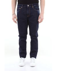 Love Moschino Jeans 5 tasche in cotone stretch - Blu