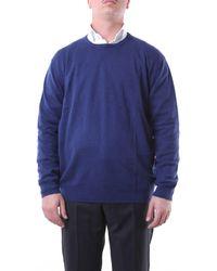 Della Ciana Jersey de cuello redondo celeste - Azul
