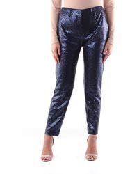 Seventy Pantalón chino setenta con lentejuelas - Azul
