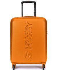 K-Way K-air cabin trolley 8akk1g01 nero - Arancione