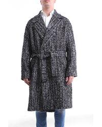 Hevò Prendas de abrigo largo - Negro