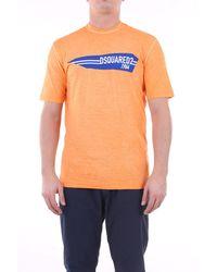DSquared² T-shirt manche courte - Orange