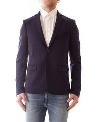 Patrizia Pepe - 5s0650/a6q0 giacca in tessuto misto cotone stretch - Lyst