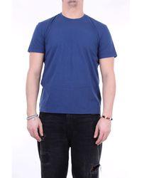Fedeli Faithful pacific camiseta azul con cuello redondo
