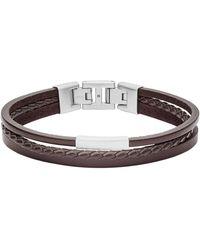 Fossil Accessoires bracelet - Marron