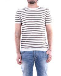 Jeordie's Suéter de cuello redondo jeordie en blanco y barro