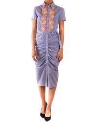 Boutique Moschino Vestidos elegante - Morado