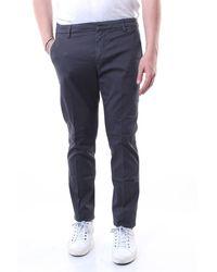 Dondup Pantalon gris foncé modèle gaubert