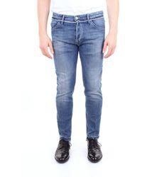 Pt05 Jeans Para - Azul