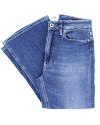 Dondup Jeans bootcut con vestibilità superskinny - Blu