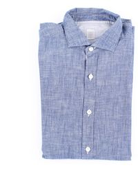 Eleventy Shirts sport - Bleu