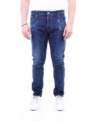 DSquared² Blue jeans 5 bolsillos - Azul