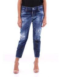 DSquared² Jeans cropped - Blu