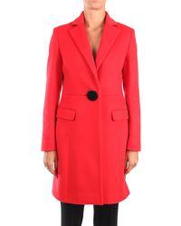 Hanita H.k850.2942 cappotto - Rosso