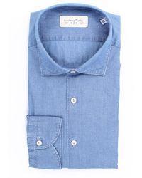 Tintoria Mattei 954 Camicia jeans - Blu