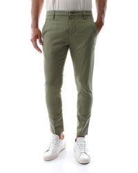 Dondup Pantalon - Vert