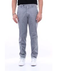 Michael Coal Pantalone chino stretch regular fit - Grigio