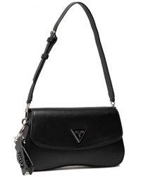 Guess Cordelia flap shoulder bag #bla - Noir