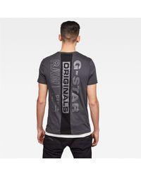 G-Star RAW T-shirt e canotte grigio - Gris