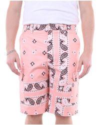 MSGM Pantalones cortos bermudas - Rosa