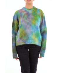 DSquared² Pull col rond - Vert