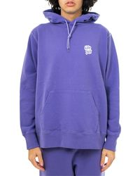 LIFE SUX Felpa basic hoodie prp sw1012 - Viola