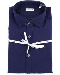 Bagutta Camisas general - Azul