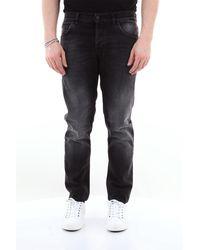 Dondup Jean mond 5 poches slim fit - Noir
