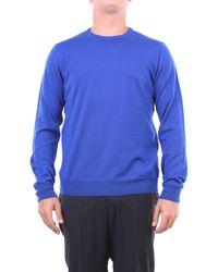 Heritage Jersey de cuello redondo en - Azul