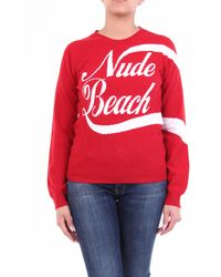 N°21 Jersey n ° 21 rojo y blanco con cuello redondo
