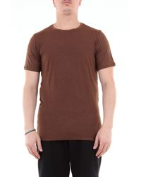 Jeordie's T-shirt manica corta tinta unita - Marrone