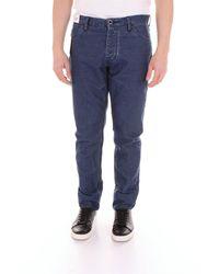 Pt05 Pantalon chino - Bleu