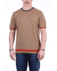 Altea - Camiseta con cuello redondo en color - Lyst