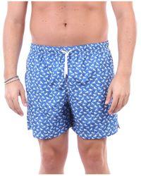 Fedeli Traje de baño pantalones cortos mar - Azul