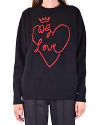 Dolce & Gabbana Prendas de punto gargantilla - Negro