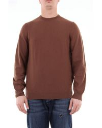 Fedeli Fiel suéter de cachemir delgado - Marrón
