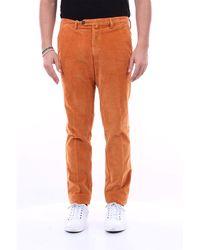 Michael Coal Pantalón con bolsillo americano de corte slim - Naranja