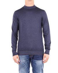 Cruciani Trousse sweatshirt herren - Blau