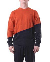 Paul Smith Jersey de cuello redondo - Naranja