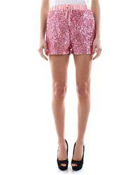 Guess Shorts full pailettes con banda laterale 94%pl 6%ea - Multicolore