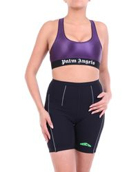 Palm Angels – ärmelloses top in lila