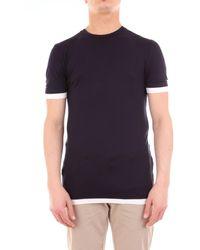 Neil Barrett Neil Barret - T-Shirt - Blu
