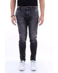 PT Torino Jeans droit - Gris