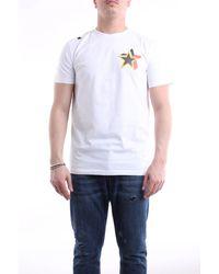 Saucony Camiseta blanca de manga corta - Blanco