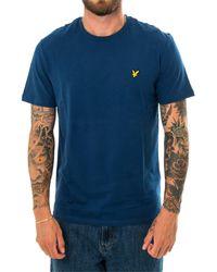 Lyle & Scott T-shirt plain ts400v.w106 - Blau