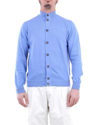 Heritage Maglia con maniche lunghe color cielo - Blu