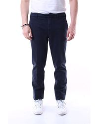 Eleventy Pantalones regular - Azul